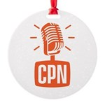 Cast Party Network Round Ornament