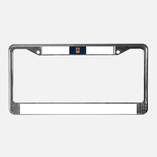 Alberta Flag License Plate Frame