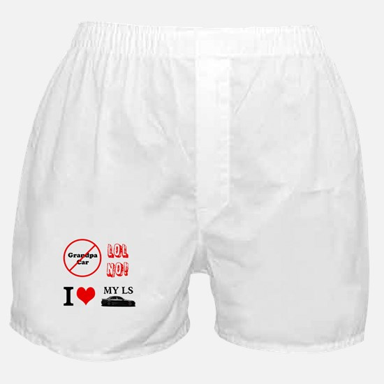 I Love my LS Boxer Shorts