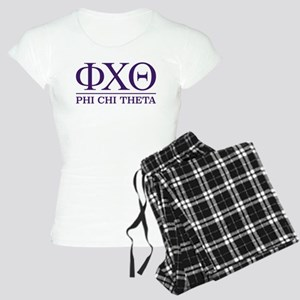 Phi Chi Theta Fraternity Le Women's Light Pajamas
