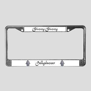 Shimmy Shimmy Bellydancer License Plate Frame