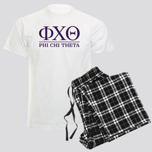 Phi Chi Theta Fraternity Lett Men's Light Pajamas