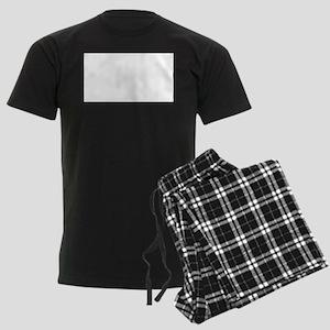Phi Chi Theta Fraternity Lette Men's Dark Pajamas