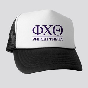 Phi Chi Theta Fraternity Letters Trucker Hat