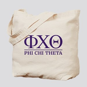 Phi Chi Theta Fraternity Letters Tote Bag