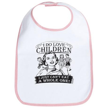 I Do Love Children Bib