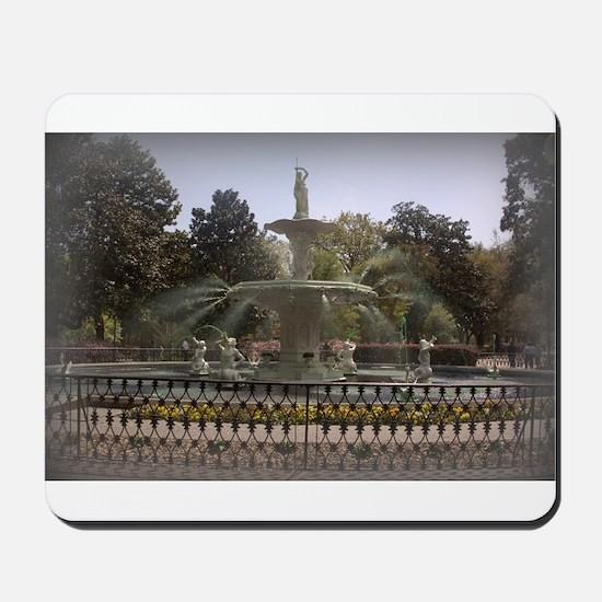 Forsyth Park Fountain Mousepad