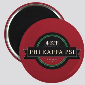 Phi Kappa Psi Fraternity Letters and Name E Magnet