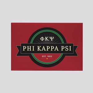 Phi Kappa Psi Fraternity Letters Rectangle Magnet
