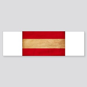 Austria Flag Sticker (Bumper)