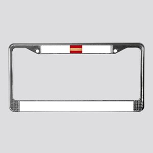 Austria Flag License Plate Frame