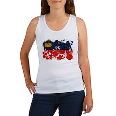 Liechtenstein Flag Women's Tank Top