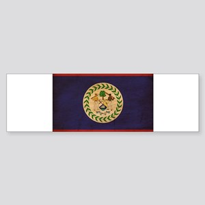 Belize Flag Sticker (Bumper)