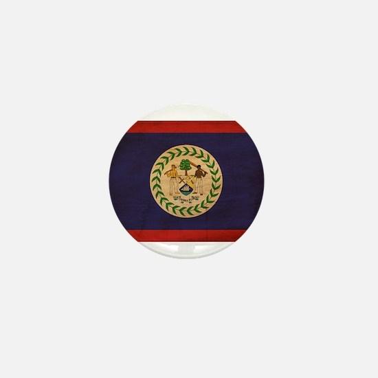 Belize Flag Mini Button