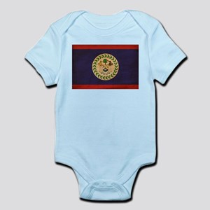 Belize Flag Infant Bodysuit