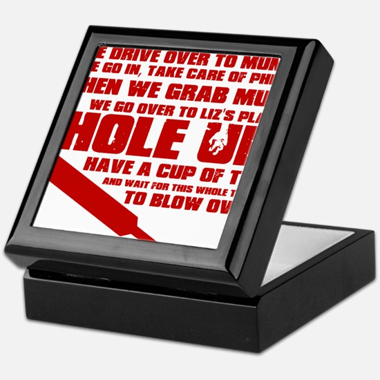 Hole Up Keepsake Box