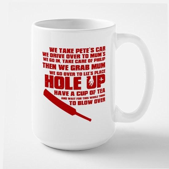 Hole Up Large Mug