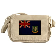 British Virgin Islands Flag Messenger Bag