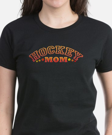 Hockey Mom Women's Dark T-Shirt