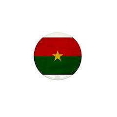 Burkina Faso Flag Mini Button (10 pack)