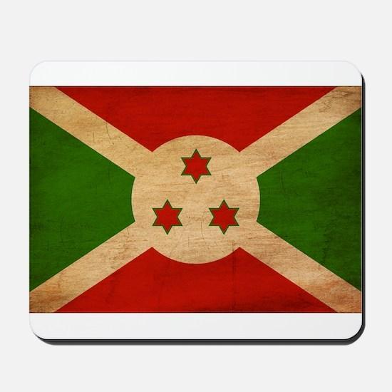 Burundi Flag Mousepad