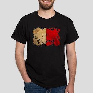 Malta Flag Dark T-Shirt