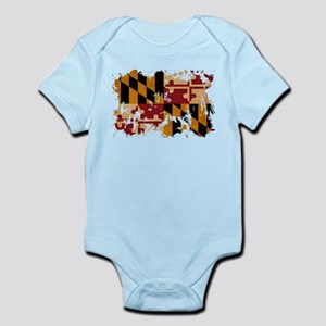 Personalized Maryland Baby Clothes Accessories Cafepress
