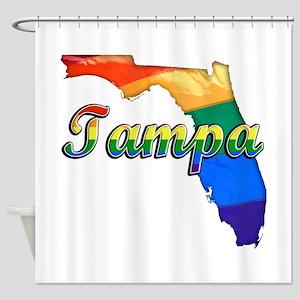 Tampa, Florida, Gay Pride, Shower Curtain