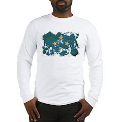 Micronesia Flag Long Sleeve T-Shirt