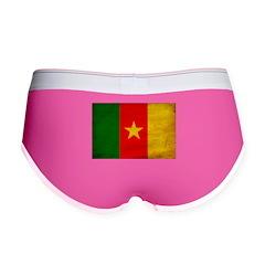 Cameroon Flag Women's Boy Brief