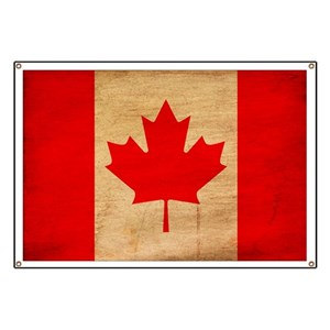 canadian souvenirs banners cafepress