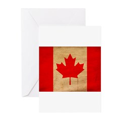 Canada Flag Greeting Cards (Pk of 10)