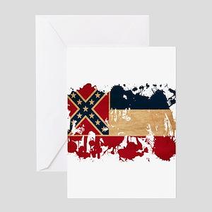 Mississippi Flag Greeting Card