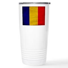 Chad Flag Stainless Steel Travel Mug