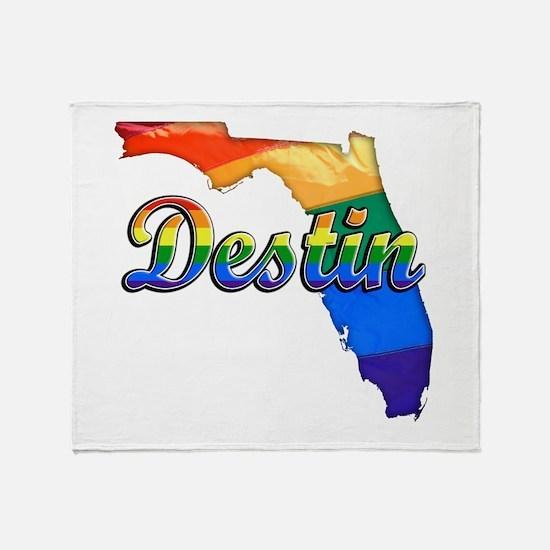 Destin, Florida, Gay Pride, Throw Blanket