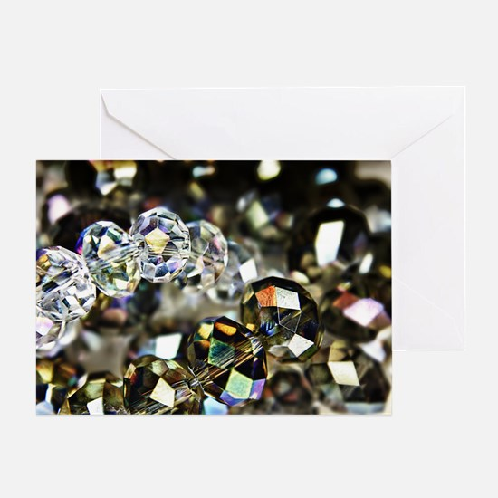 Sparkling Beads Greeting Card