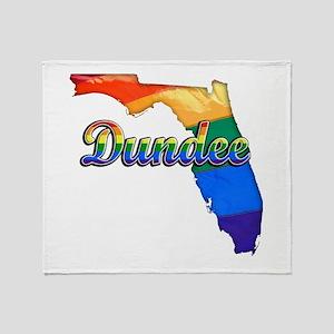 Dundee, Florida, Gay Pride, Throw Blanket