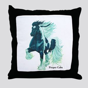 Proper Cobs Group Throw Pillow