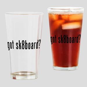 GOT SK8BOARD Drinking Glass