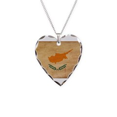 Cyprus Flag Necklace
