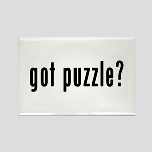GOT PUZZLE Rectangle Magnet