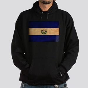 El Salvador Flag Hoodie (dark)