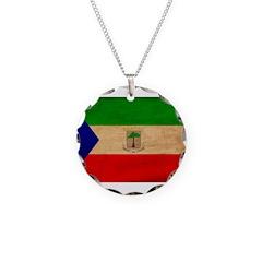 Equatorial Guinea Flag Necklace