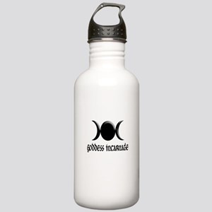 Goddess Incarnate Blk Stainless Water Bottle 1.0L