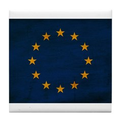 European Union Flag Tile Coaster