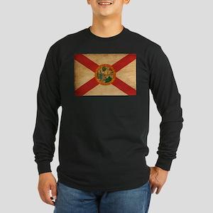 Florida Flag Long Sleeve Dark T-Shirt