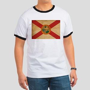 Florida Flag Ringer T