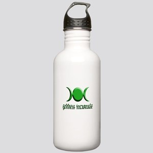 Goddess Incarnate Grn Stainless Water Bottle 1.0L
