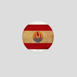 French Polynesia Flag Mini Button
