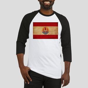 French Polynesia Flag Baseball Jersey